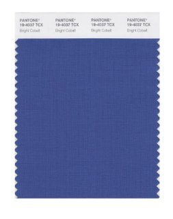 PANTONE SMART 19 4037X Color Swatch Card, Bright Cobalt: Home Improvement
