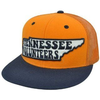 NCAA Tennessee Volunteers Orange Blue Adjustable Mesh Snapback Flat Bill Hat Cap  Sports Fan Baseball Caps  Sports & Outdoors