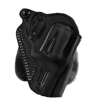 Galco Speed Paddle Holster for S&W L FR 686 3 Inch (Black, Right hand)  Airsoft Stomach Band Holsters  Sports & Outdoors