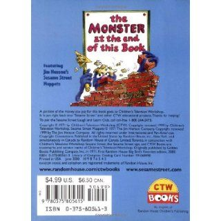 The Monster at the End of This Book (Sesame Street) (Big Bird's Favorites Board Books) Jon Stone, Michael Smollin 0807728242503 Books