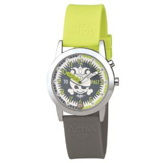 Activa By Invicta Kids' SV671 009 Time 2 Learn Jolly Roger Watch: Watches