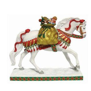 Trail of Painted Ponies   Polar Express Christmas Pony Figurine New   Collectible Figurines