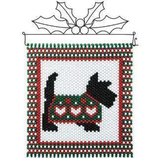 Heart Sweater Scottie Beaded Banner Kit   Jewelry Making Supplies