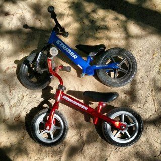 Chicco Red Bullet Balance Training Bike: Toys & Games