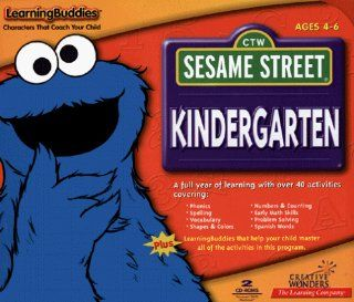 Sesame Street Kindergarten Software