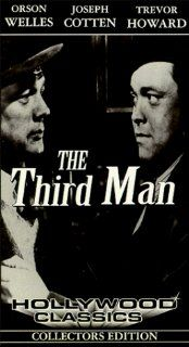 The Third Man [VHS]: Orson Welles, Joseph Cotten, Trevor Howard, Alida Valli, Carol Reed: Movies & TV