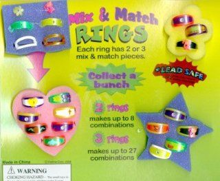 Mix and Match Rings Vending Machine Capsules Health & Personal Care