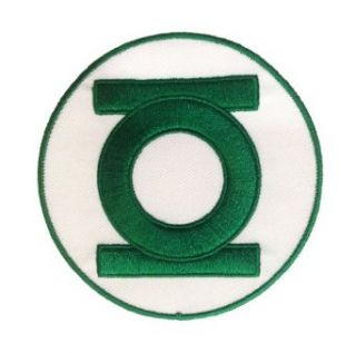 Green Lantern Dc Comics Embroidered Chest Logo Patch Clothing