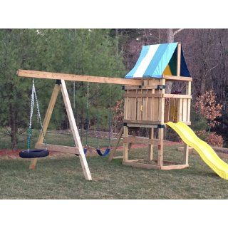 Alpine Custom Ready to Build Swing Set Kit Toys & Games