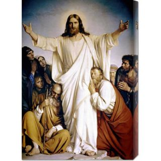 Global Gallery Christ the Consoler by Carl Bloch Stretched Canvas