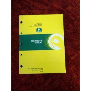 John Deere 730 Air Disk Drill OEM OEM Owners Manual John Deere Books