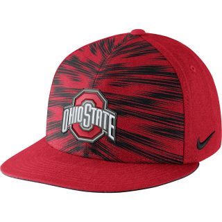 NIKE Mens Ohio State Buckeyes Players Game Day True Snapback Cap   Size