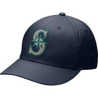 NIKE Mens Seattle Mariners MLB Dri FIT Practice Cap 12, Navy