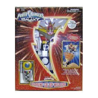 Power Rangers Lost Galaxy Deluxe Charging Galaxy Megazord: Toys & Games