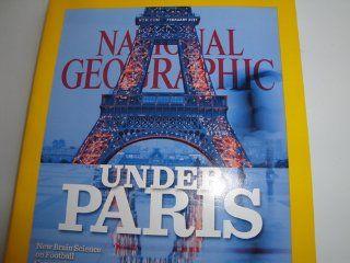 National Geographic Magazine February 2011 (Under Paris) Books