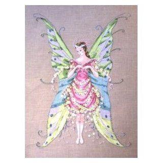 Fairy Roses Cross Stitch Pattern