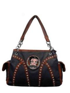 Betty Boop Purses,red Handbag with the Nice Betty Boop on the Front,zipper Closed. Shoes