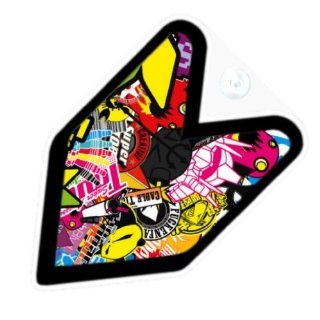 JDM Sticker Bomb Car Decal Badge: Automotive
