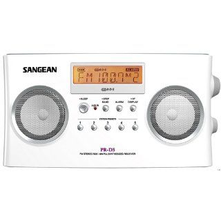 Sangean PR D5  Portable Radio with Digital Tuning and RDS Electronics