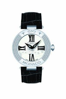 Gio Monaco Women's 779B F Mandolino White Dial Musical Leather Diamond Watch at  Women's Watch store.