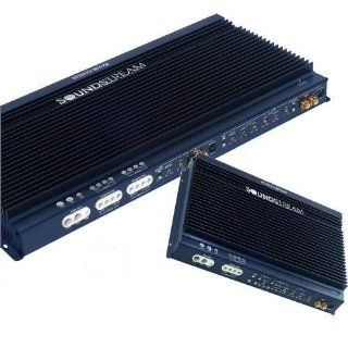 Soundstream REF4.760 4 x 125 4 Channel Amplifier (Midnight Blue) : Vehicle Multi Channel Amplifiers : Car Electronics