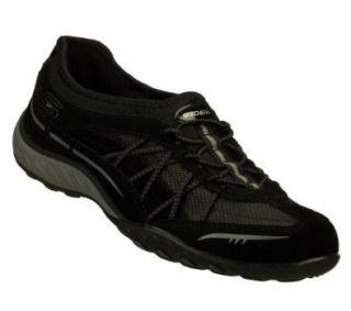 "Skechers Women's Relaxed Fit Sneakers ""Breathe Easy Weekender""   Black (#22456) Fashion Sneakers Shoes"