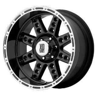 "KMC Wheels XD Series Diesel XD766 Gloss Black Machined Wheel (20x10""/6x5.5""): Automotive"