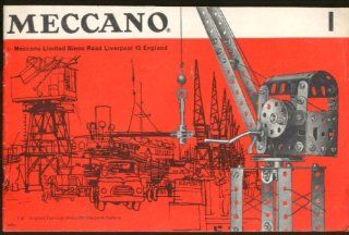 Meccano Building Set Instruction Manual #1 1967 Entertainment Collectibles