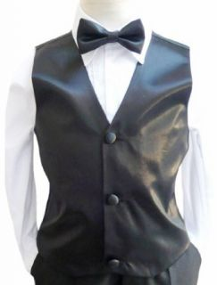 Classykidzshop Solid Vest and Bow Ties in Assorted Colors Clothing
