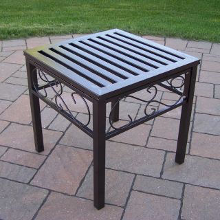 Oakland Living Rochester End Table   Patio Tables