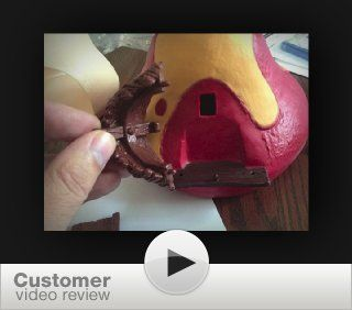 Schleich Smurfs Large House, 5 Piece Set: Toys & Games