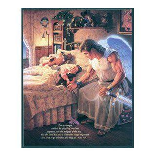 Company of Angels   Guardian Angel Print   GIRL