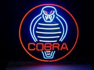 Classic Cobra Logo Beer Bar Pub Store Neon Light Sign
