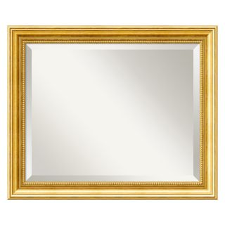 Townhouse Gold Wall Mirror   23W x 19H in.   Wall Mirrors