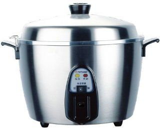 Tatung Tac 11kn 11 CUP Stainless Steel Rice Cooker Home Supply Maintenance Store   Nonslip Appliques