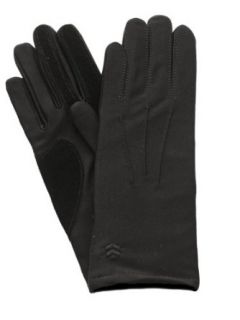 Isotoner Womens Lined Gloves One Size Black at  Women�s Clothing store: Cold Weather Gloves