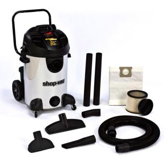 Shop Vac 16 gal. Stainless Steel Ultra Pro Wet/Dry Shop Vacuum   Equipment