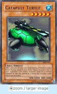 Yugioh Mrd 075 Catapult Turtle Super Rare Foil Card: Toys & Games