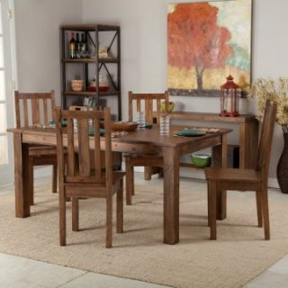 Belham Living Townsend Rustic Wood Dining Table Set   Dining Table Sets
