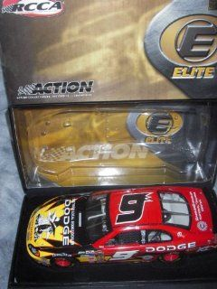 2004 Kasey Kahne #9 Action Racing Collectables Club of America RCCA 1/24 Scale Hood Opens, Trunk Opens HOTO Dodge Dealers Spy vs Spy Mad Magazine Top of the Line Elite Diecast Individually Serialized Very Limited Production Only 804 MadeRookie Year Yellow