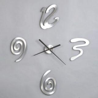 Jon Gilmore Floating Modern 36 Inch Wall Clock   Wall Clocks