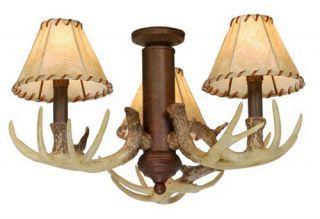 AireRyder LK33053WP Lodge Log Cabin Light Kit   Weathered Patina   Ceiling Fans