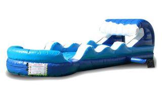 EZ Inflatables Tsunami Slip and Dip Slide   Commercial Inflatables