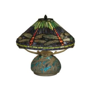 Dale Tiffany Dragonfly Medley Table Lamp   Table Lamps