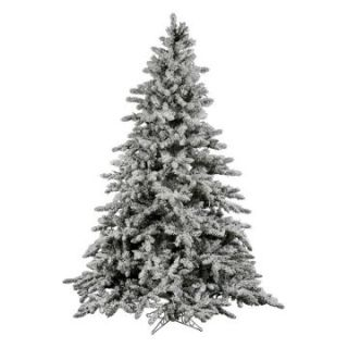 Vickerman 7.5 ft. Flocked Utica Fir Christmas Tree   Christmas Trees