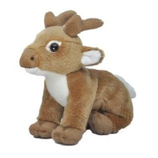 Small Stuffed Buck Deer by SOS Toys & Games