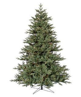 Blue Noble Fir Pre lit Christmas Tree   Christmas Trees