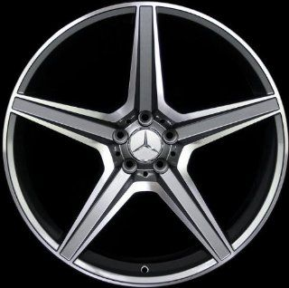 """22"""" Wheels for Mercedes Benz ML ML430 ML500 GL GL450 AMG style set of 4 rims & caps and lugs: Automotive"""