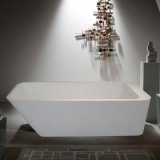 Aquatica PureScape 67 Inch Freestanding Tub White PURESCAPE 746M   Freestanding Tubs