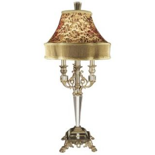 Dale Tiffany Leyland Crystal Table Lamp   Table Lamps
